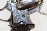 BELGIAN Antique Engraved 9mm PINFIRE Revolver - 7 of 14