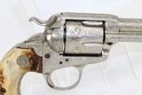 ENGRAVED 1st Gen COLT BISLEY SAA .38-40 Revolver - 14 of 15