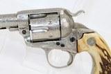 ENGRAVED 1st Gen COLT BISLEY SAA .38-40 Revolver - 3 of 15