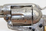 ENGRAVED 1st Gen COLT BISLEY SAA .38-40 Revolver - 9 of 15