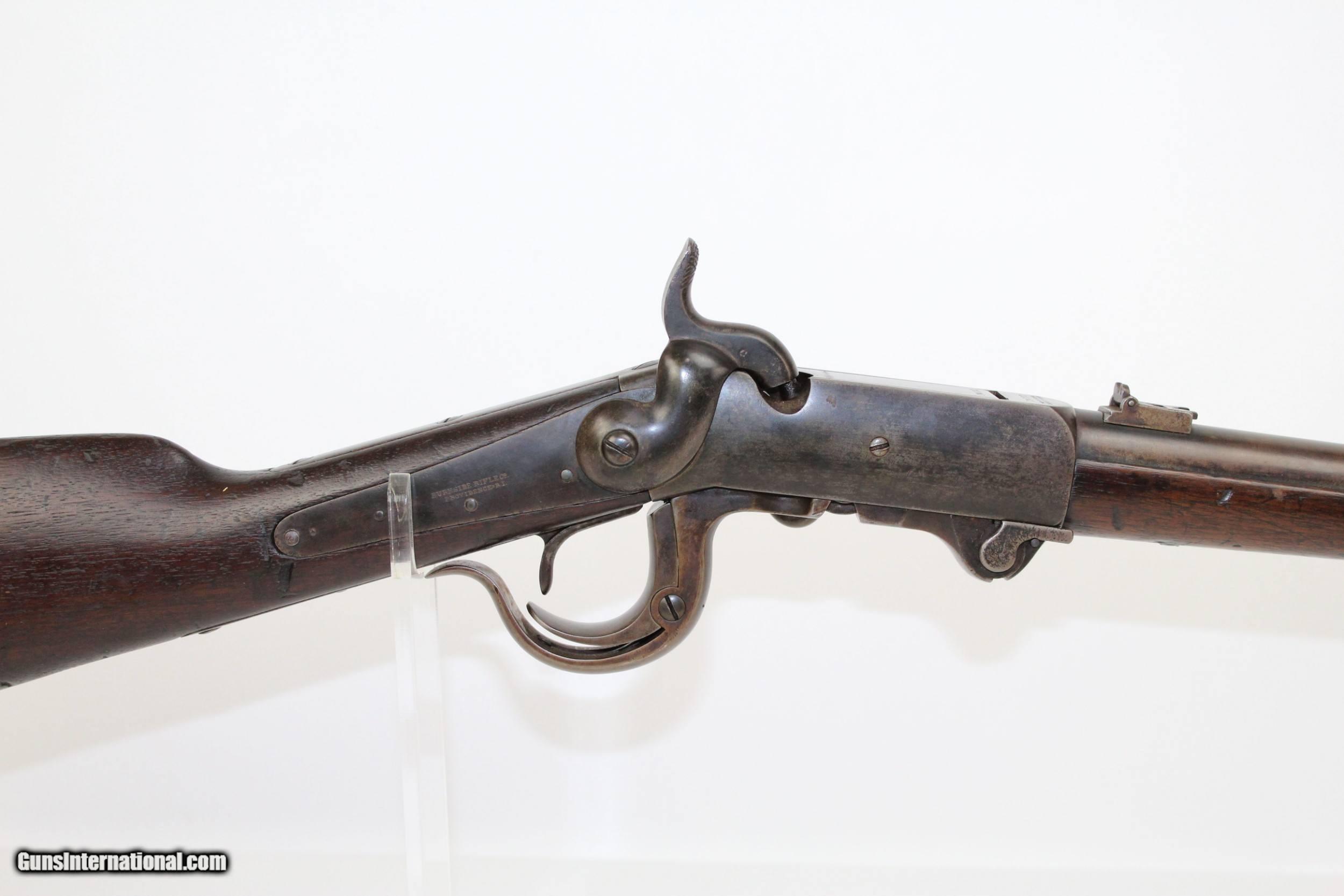 Unit Marked CIVIL WAR Antique BURNSIDE Carbine for sale