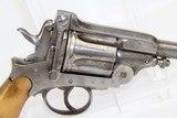 Large .44 Caliber MONTENEGRIN Revolver Circa 1910 - 13 of 14