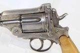 Large .44 Caliber MONTENEGRIN Revolver Circa 1910 - 3 of 14