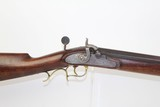 HEAVY Antique .50 CAL American TARGET Long Rifle