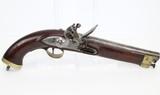 Antique BRITISH EAST INDIA COMPANY Flintlock Pistol
