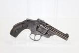 S&W Safety Hammerless 4th Model Revolver C&R