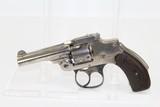FINE S&W Hammerless 1st Model .32 DA Revolver C&R
