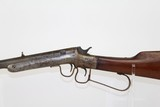 1870s Antique Frank Wesson TWO-TRIGGER .22 Rifle