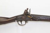 Antique US SPRINGFIELD Model 1816 FLINTLOCK Musket