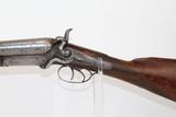 BRITISH Antique JOSEPH MANTON SxS Shotgun