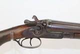 """COACH-Style """"W. Richards"""" SxS Hammer Shotgun"""