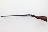 "A.H. Fox ""STERLINGWORTH"" 20 Gauge SxS Shotgun"