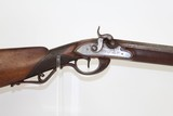 GERMAN Antique Full Stock JAEGER Smoothbore Musket