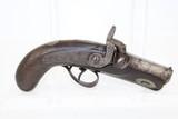Mid-19th Century Antique DERINGER Pistol