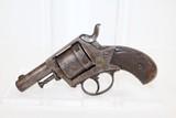 "BELGIAN Antique ""British Bull-Dog"" Style Revolver"