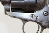 """""""U.S."""" Antique COLT Single Action Army .45 Revolver - 5 of 12"""