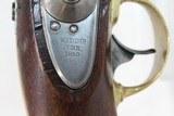 US Marked Henry ASTON Contract 1842 DRAGOON Pistol - 6 of 12