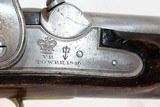 """VICTORIAN BRITISH Antique """"COAST GUARD"""" Pistol - 5 of 16"""