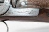 Engraved HOWDAH Style ALDEN & SMITH SxS Pistol - 6 of 15