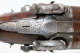 Engraved HOWDAH Style ALDEN & SMITH SxS Pistol - 7 of 15