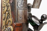 FANTASTIC Antique MEDITERANEAN Flintlock Pistol - 14 of 20