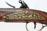 FANTASTIC Antique MEDITERANEAN Flintlock Pistol - 16 of 20