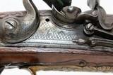 FANTASTIC Antique MEDITERANEAN Flintlock Pistol - 5 of 20