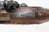 FANTASTIC Antique MEDITERANEAN Flintlock Pistol - 12 of 20