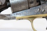 Mid-CIVIL WAR COLT 1860 ARMY Revolver Made in 1863 - 5 of 24