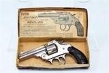FINE IVER JOHNSON C&R Revolver in .32 S&W w/ Box