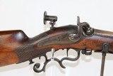 SWISS Antique MÜLLER Schuetzen Rifle w Palm Rest - 4 of 16
