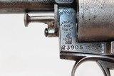 Engraved SAN FRANCISCO Webley BULLDOG 450 Revolver - 5 of 21