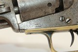 """Antique COLT 1848 BABY DRAGOON """"Pocket"""" Revolver Scarce Revolver Made 1848 w ANTIQUE IVORY GRIPS! - 5 of 16"""
