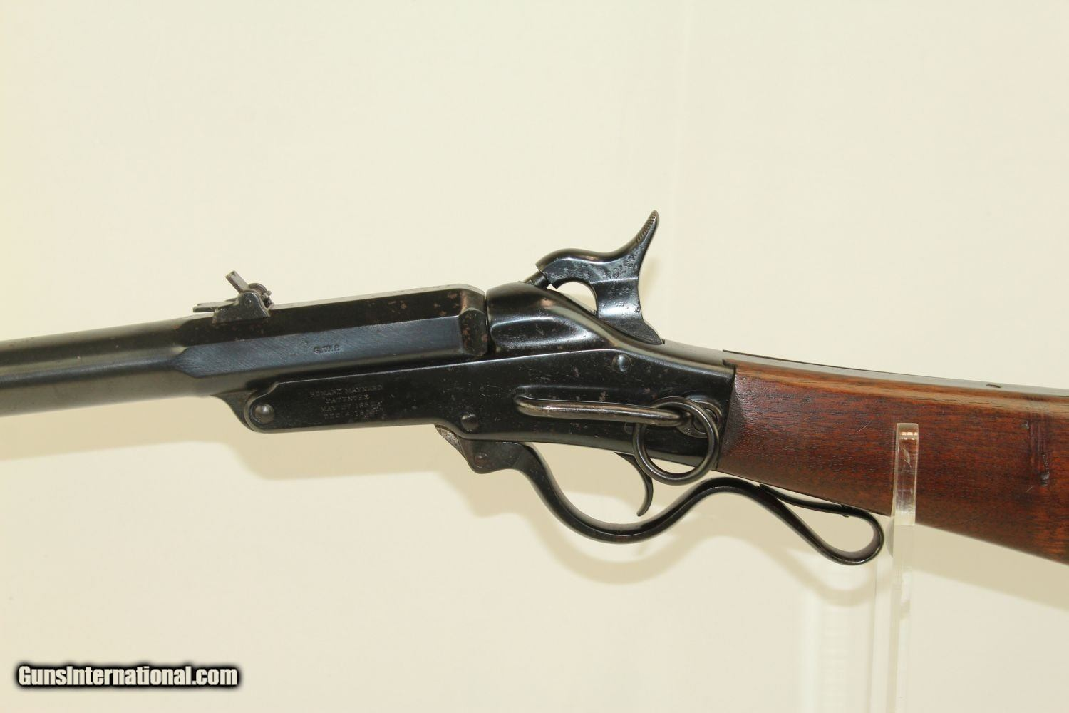 CIVIL WAR 2nd Model MAYNARD 1863 Cavalry Carbine Issued to