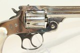 Nickel & PEARL SMITH & WESSON .38 S&W Revolver C&R