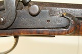 LEHIGH COUNTY, PA Style Antique LONG RIFLE Made Circa the 1840s with James Golcher Lock - 9 of 22