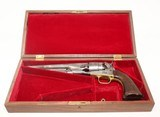 Mid-CIVIL WAR COLT 1860 ARMY Revolver Made in 1863 .44 Caliber Cavalry Revolver by Samuel Colt