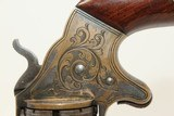 Unique CIVIL WAR Antique BROOKLYN SLOCUM Revolver With Rollin White By-Passing Sliding Chambers - 5 of 17