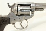 """NOTCHED & INITIALED Antique COLT 1877 LIGHTNING HOLSTERED .38 """"SHERIFF'S MODEL"""" Made in 1879 - 18 of 19"""