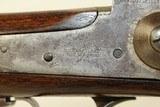 HOUSTON, TEXAS Marked SHARPS .50 Caliber RIFLE Big Bore, Heavy Barrel Percussion Rifle! - 9 of 25