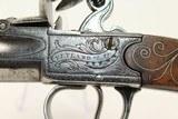 REVOLUTIONARY WAR Period British Ketland Pistol Ornate Queen Anne Flintlock Pistol c 1760 - 5 of 17