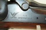 NICE Antique SPRINGFIELD Model 1879 TRAPDOOR Rifle The Original 45-70 GOVT with BAYONET and SCABBARD! - 6 of 24