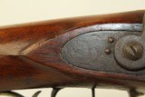 FRONTIER Antique AMERICAN LONG Rifle in .45 Caliber Golcher Lock Pioneer Manufactured Circa 1840s -1850s! - 10 of 22