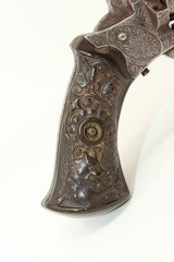 Engraved with Sculpted Hound Grips EUROPEAN Antique PINFIRE Revolver - 13 of 15