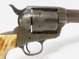 """1891 Mfg. Antique Colt """"PEACEMAKER"""" Black Powder Model SINGLE ACTION ARMY Revolver With Stag Grips Manufactured in 1891! - 17 of 18"""
