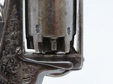 Antique DEANE, ADAMS & DEANE Adams Patent .32 Caliber Percussion REVOLVER Nicely ENGRAVED from the CIVIL WAR Period - 7 of 19