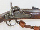 CIVIL WAR New York Made EDWARD ROBINSON CONTRACT US Model 1861 Rifle-MUSKET 1863 Dated Mid-War Contract Model Musket! - 5 of 22