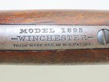 RARE .30-03! WINCHESTER Model 1895 REPEATING Rifle C&R Made 1915 WWI WORLD WAR I Era Lever Rifle in Scarce .30-03 Caliber - 13 of 22