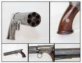 Antique BLUNT & SYMS Saw-Handle Pepperbox Revolver