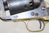 ANTEBELLUM Antique COLT Model 1851 NAVY Revolver - 6 of 17